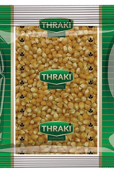 Thraki Şeffaf Ambalaj Pop Corn Mısır 500gr